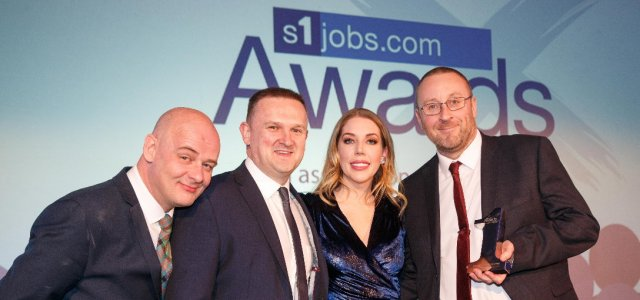 Quarriers awarded Best Recruitment Campaign by s1jobs