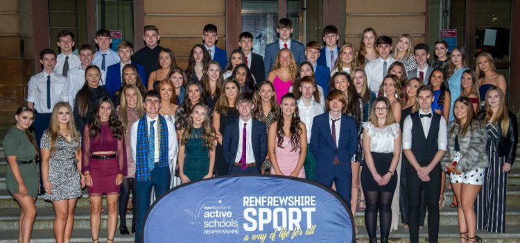 Renfrewshire students of sport graduate at ceremony and presentation at Paisley Abbey