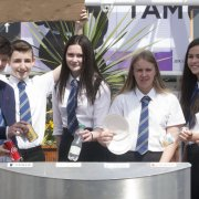 Pupils come up with recycling plans for shopping mall