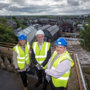 Cabinet Secretary sees behind scenes as Paisley museum transformation takes shape