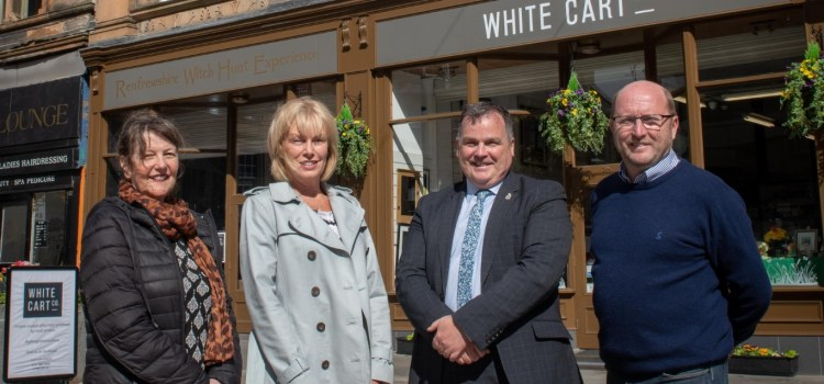 High Street building back in business with new tenants and homes