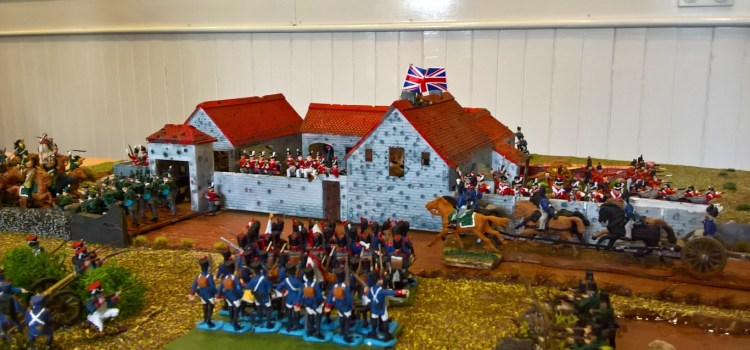 Erskine veterans swell the ranks in the Battle of Waterloo
