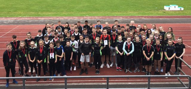 Renfrewshire's young athletes compete against fellow secondary pupils from East Renfrewshire and Inverclyde