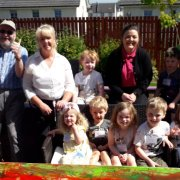 Novice painters make a splash for National Care Home open day