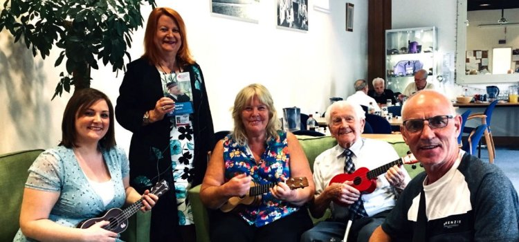 Councillor supports charities' services for Renfrewshire's older veterans with hearing loss
