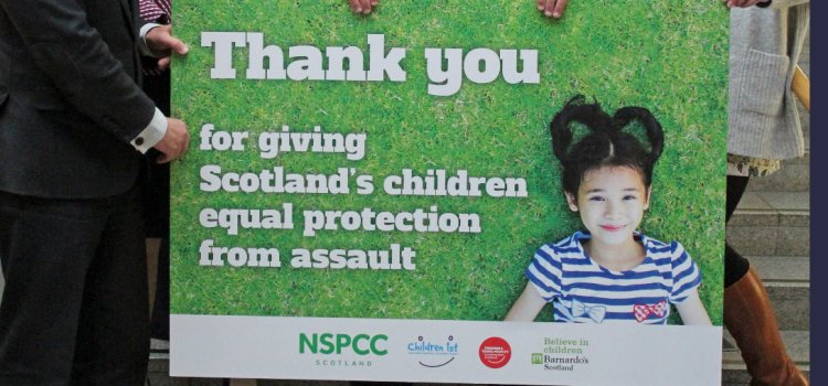 Scotland's leading children's charities hail historic vote for equal protection for children