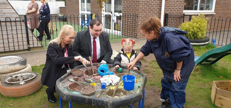 Renfrewshire children benefit from early years expansion