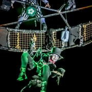 Paisley Halloween Festival photos from Saturday Night including aerial performance