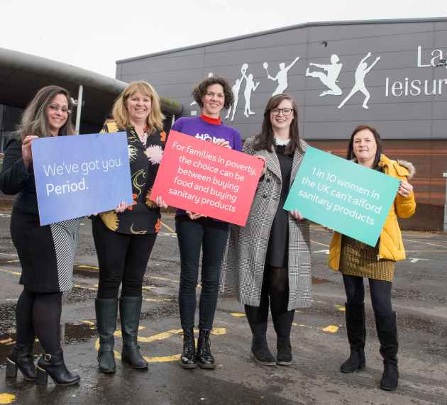 Free sanitary products launched in Council community venues during Challenge Poverty Week