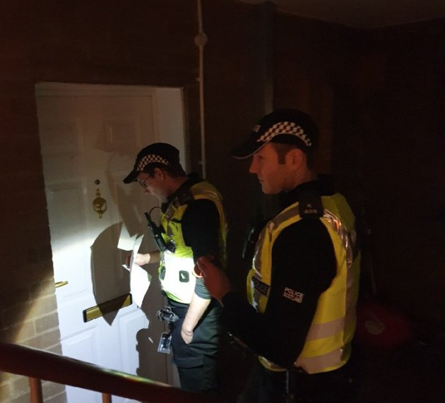 Paisley Police successfully execute nine warrants for outstanding serious crimes