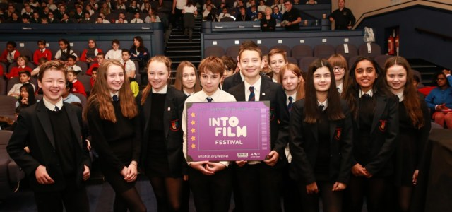 Gryffe High pupils attend Into Film Festival pupil premiere