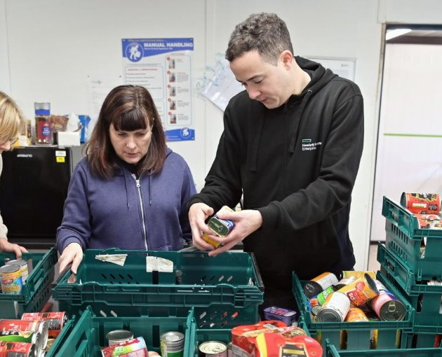 Renfrewshire shoppers urged to support UK's biggest charity food collection
