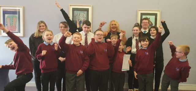 Heriot Primary School and Mary Russell School are top-of-the-class
