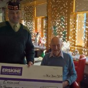 Sergeant Major completes marathon challenge in support of Erskine veterans