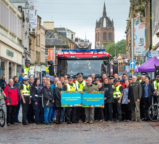 Views sought on Paisley town centre safety initiative