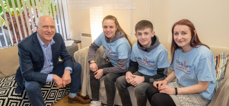 Sport Minister pays visit to Active Communities and Who Cares?
