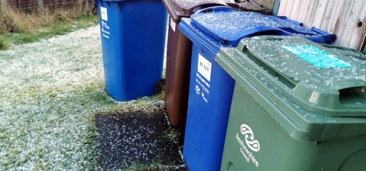 Blue recycling bin checking campaign set to tackle contaminated bins starts from Monday