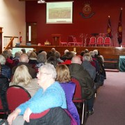 Packed U3A for Paisley tunnel talk