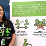Praise for Asda Linwood first aider as she comes to the aid of elderly customer