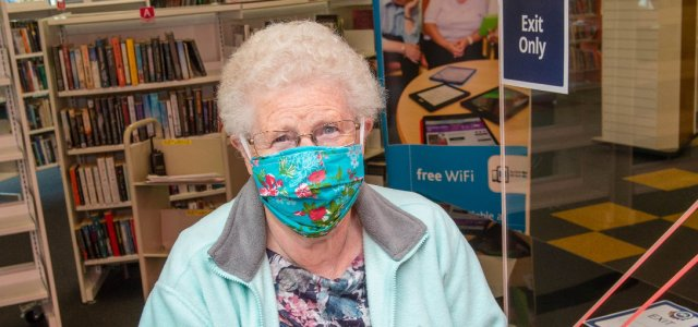 Ann's first is turn up for the books as Renfrewshire's libraries reopen