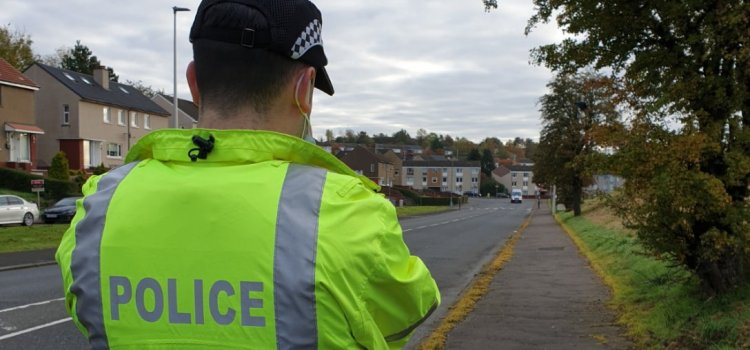 Road safety checks carried out in Paisley 'areas of concern'