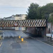 Paisley railway bridge is 14th most struck structure in the UK