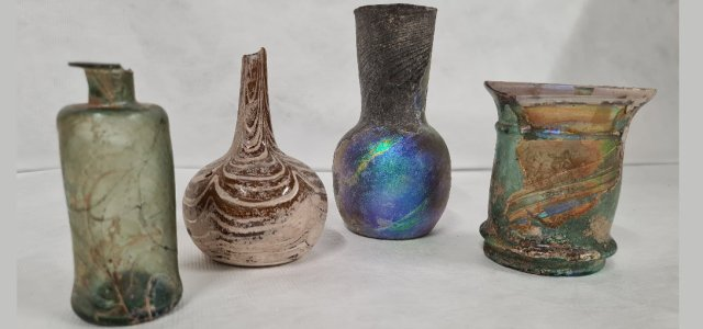 Paisley Museum's Syrian glass collection to be displayed for the first time