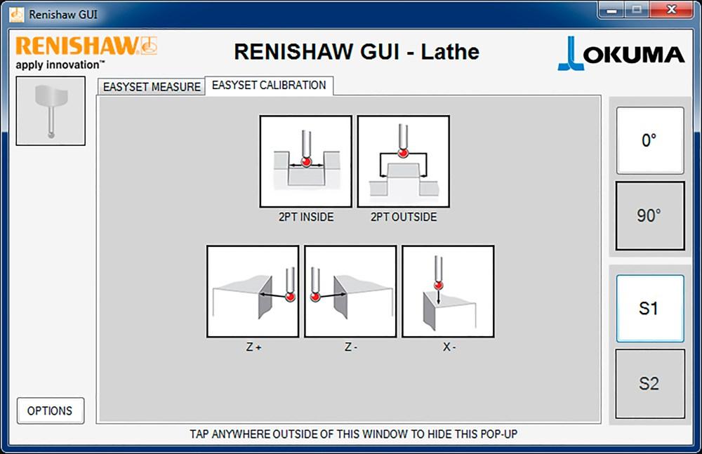 medium resolution of easyset probe calibration 90 probe orientation okuma lathe gui