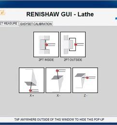 easyset feature measurement 0 probe orientation okuma lathe gui [ 3146 x 2038 Pixel ]