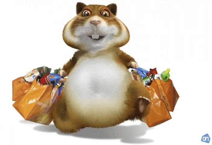 Hamsteren en stapelen voor hardlopers