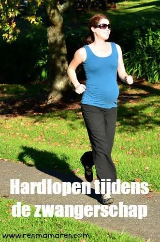 hardlopen tijdens zwangerschap