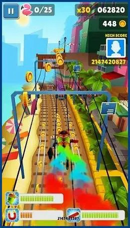 Misi game Subway Surfers