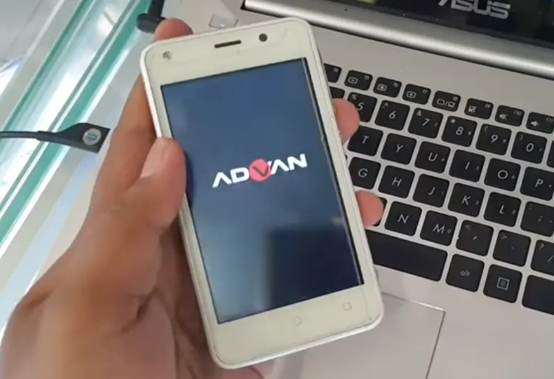 Cara Flash Advan S4F Bootloop