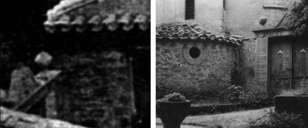 Comparación cruz cementerio