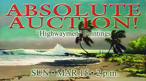 Backus / Highwaymen Auction
