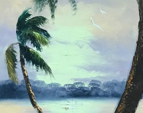 Florida Highwaymen Art - H. Baker