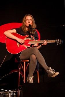 Alexandra Supertramp beim Poetry Slam im C@fe-42