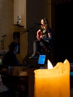 Alexandra Supertramp beim Poetry Slam im Cafe-42