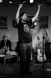 Micha-El Goehre, CaféSATZ Poetry Slam, C@fe-42, 21. Dez. 2012