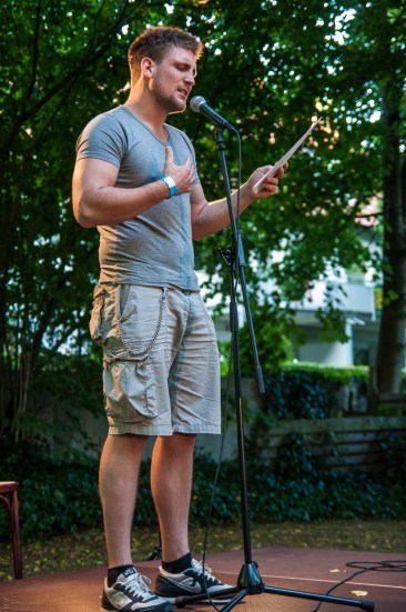 Leif Kl, 19.7.2013, C@fe-42, Gelsenkirchen