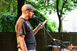 David Grashoff, 19.7.2013, C@fe-42, Gelsenkirchen