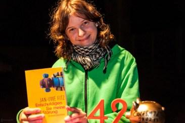 1. Platz: Mulle, 19.7.2013, C@fe-42, Gelsenkirchen