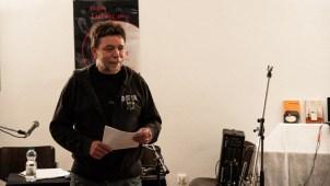 Jürgen Ludwig moderierte den Abend, Wohlklang Wortbühne