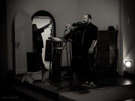 Andreas in der Au, 18.10.2013, Slam Poeten Lesung, Gladbeck