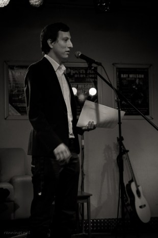 Stefan Alexander, 8.11.2013, CaféSATZ Poetry Slam, C@fe-42