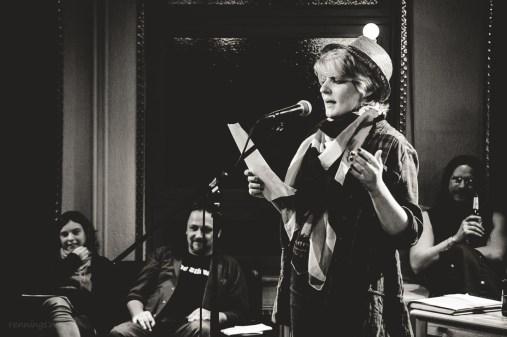Anna Conni, CaféSATZ Poetry Slam, C@fe-42, 6.12.2013