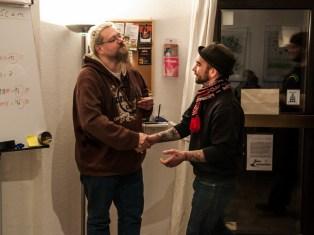 1. PLätze: Zerbolesch & Tuna Tourette, Wohlklang Poetry Slam, 1