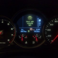 2 Switch Light Wiring Diagram House Thermostat Right Cornering ? - 9pa, 9pa1 (cayenne, Cayenne S, Turbo, Turbo S ...