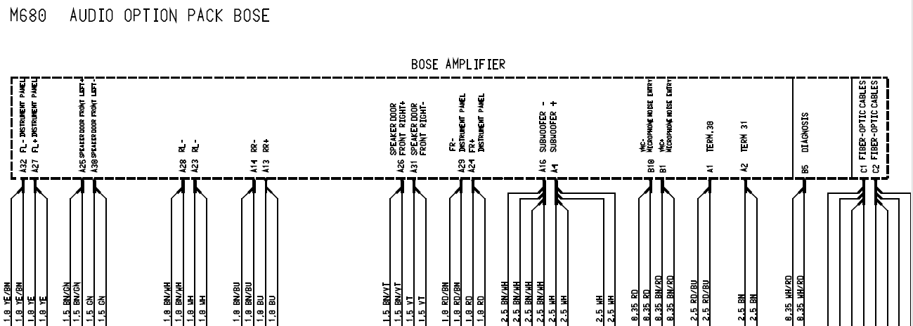 Bose Amp Wiring Diagram : 23 Wiring Diagram Images