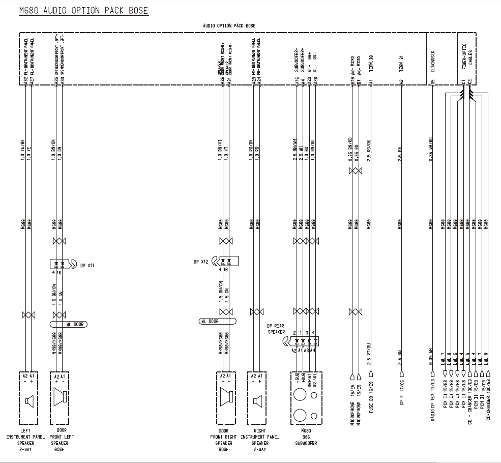 medium resolution of 986 headlight wiring diagram